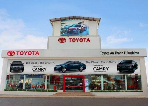 Đại lý xe Toyota An Thành Fukushima, Toyota Vios, Toyota Fortuner, Toyota Yaris, Toyota Altis, Toyota Innova, Toyota Camry