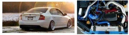 Cách đối phó cấp tốc khi động cơ xe Subaru Legacy quá nhiệt