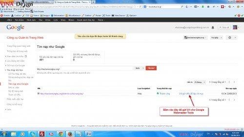 Webmaster Tools, Google webmaster Tools