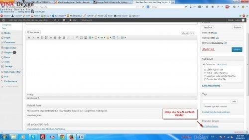 Thêm hình thumnail cho website wordpress
