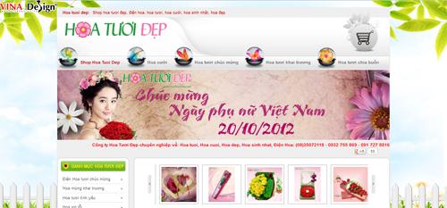 Shop Hoa Tuoi Đẹp chuyên nghiệp về hoa tươi và dich vụ điện hoa như: hoa chúc mừng, hoa cưới, hoa sinh nhật, hoa khai trương, hoa chia buồn.