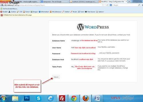 Hướng dẫn cài đặt wordpress, hướng dẫn cài đặt file config cho wordpress