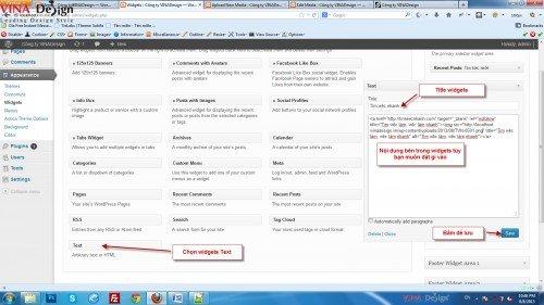 Tạo sidebar menu tùy biến, hướng dẫn thiết kế web
